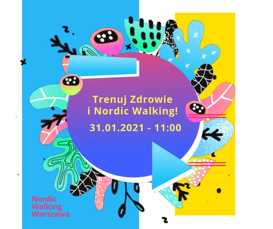 nordic walking warszawa treningi marsze z kijami